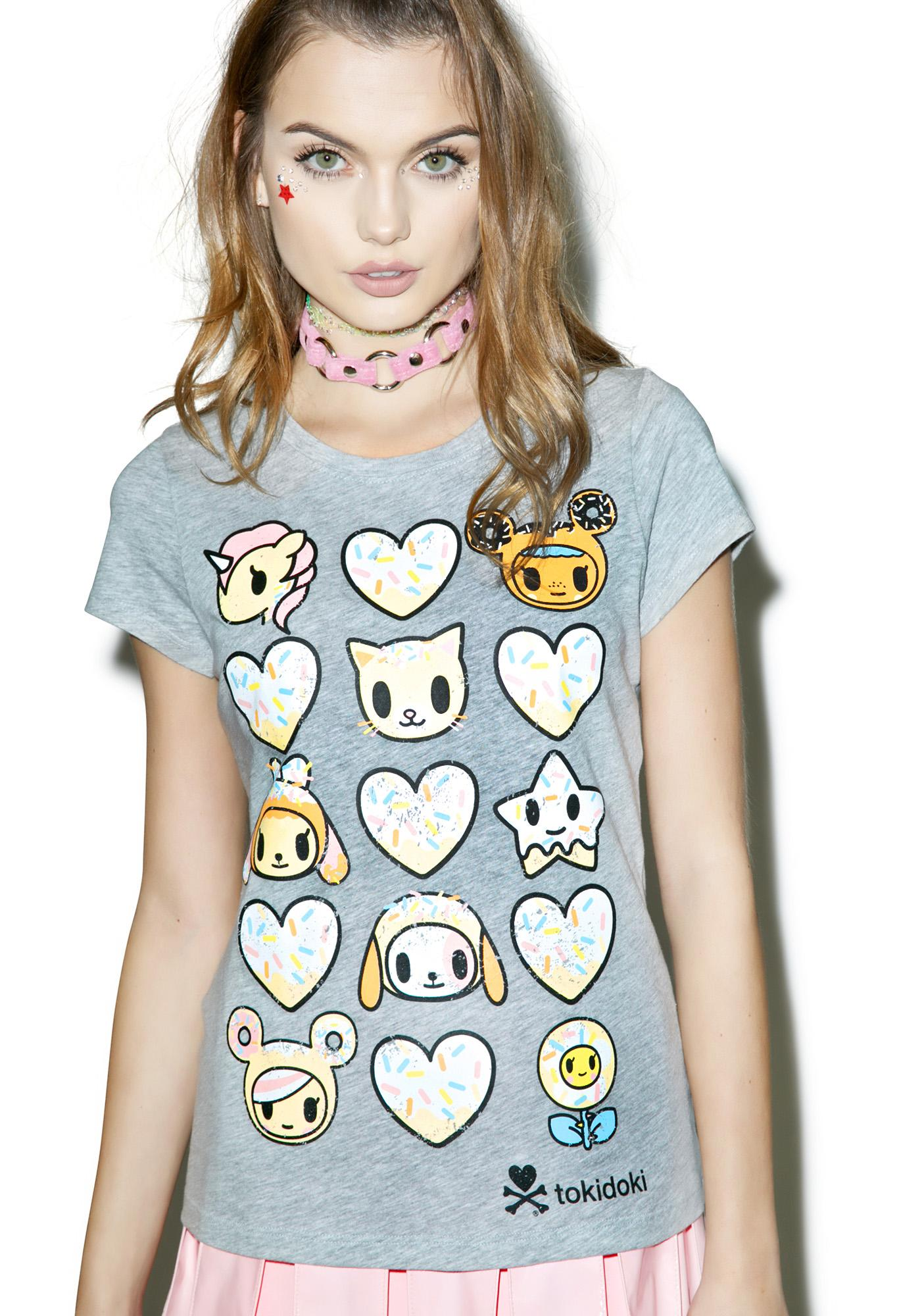 Tokidoki Heart You T-Shirt