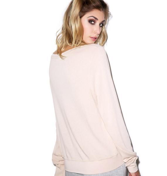 Wildfox Couture The Perfect Gift Baggy Beach Jumper