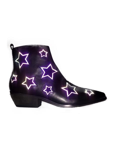 Laso Stars Reflective Boots