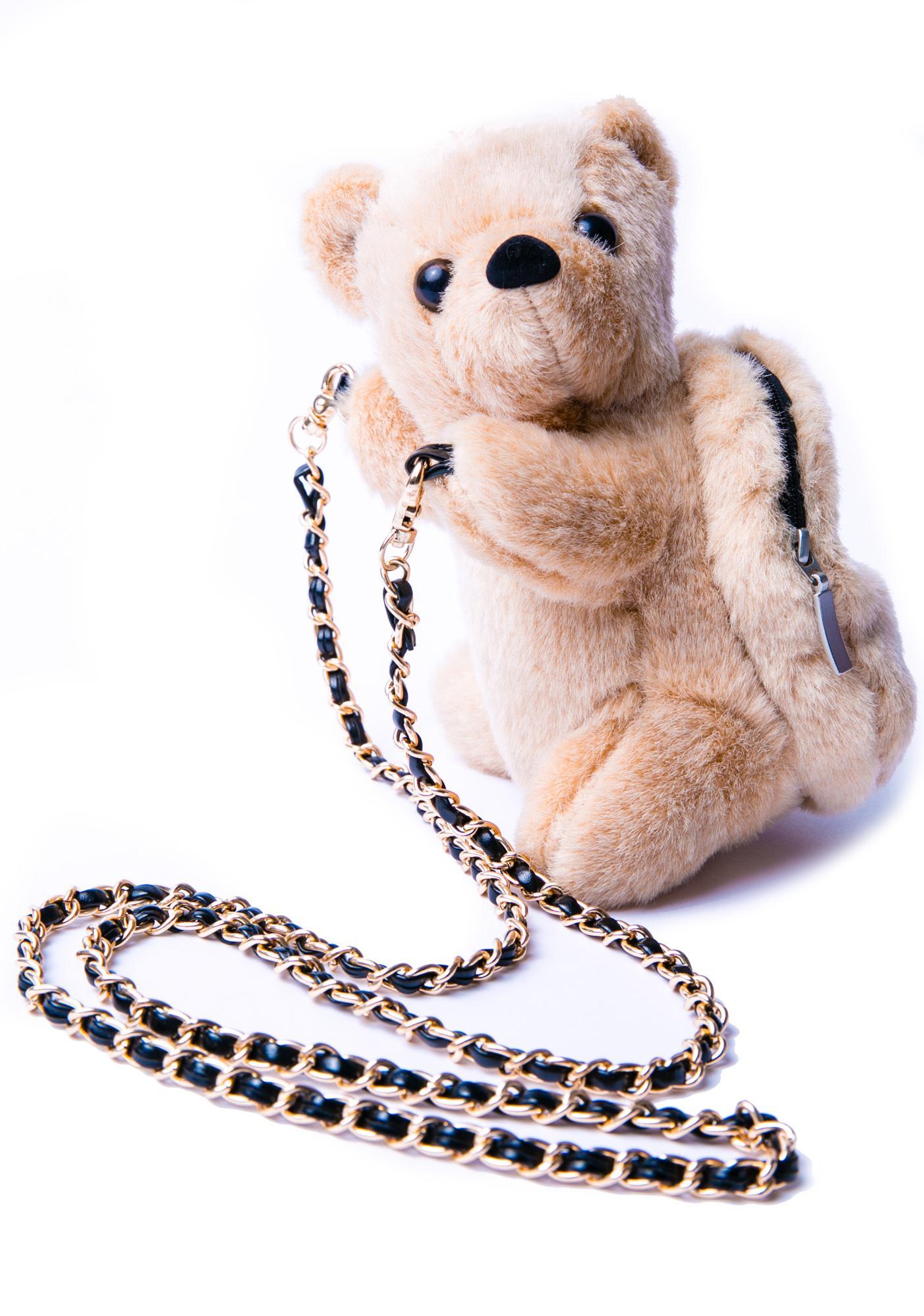 Bear Hugz Plush Bag