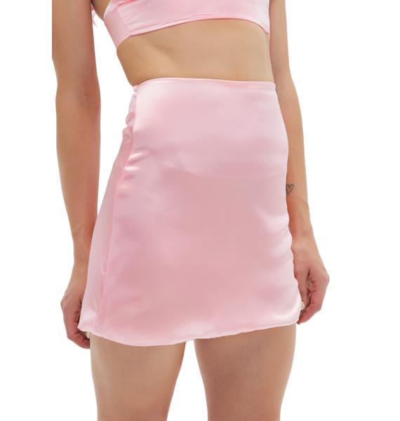 O Mighty Princess Silk Kitten Skirt