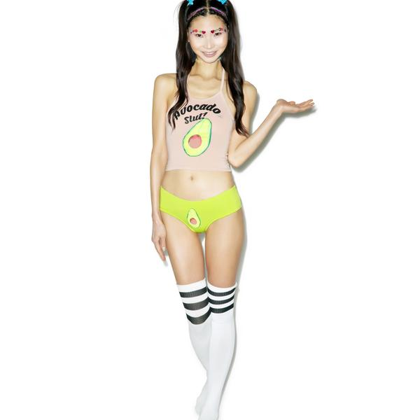 O Mighty Avocado Slut Halter Top