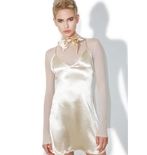 Private Show Slip Dress