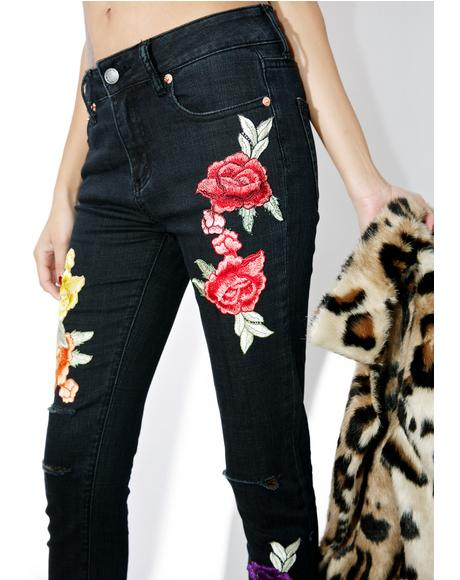 Pocket Full Of Roses Jeans