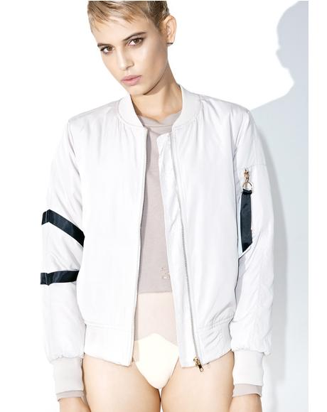 No Restraints Bomber Jacket