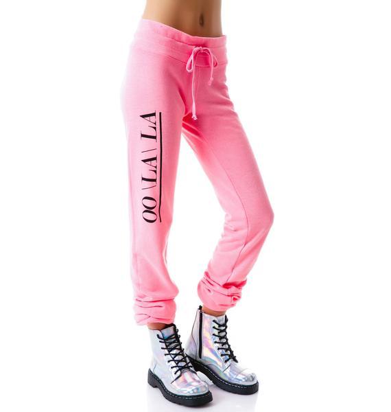 Wildfox Couture Oo La La Malibu Skinny Sweats