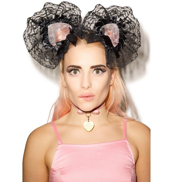 Fluffy Bubbles Cat Ears