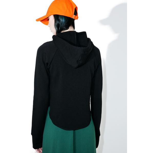 Go Off Cropped Hoodie