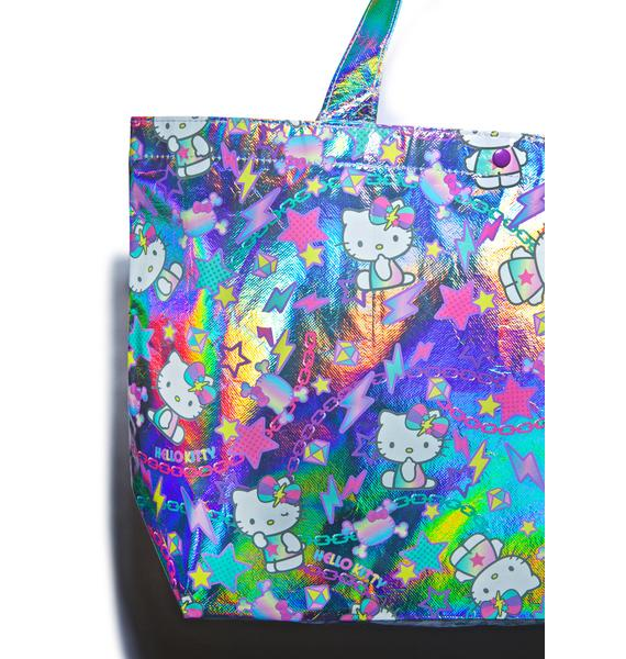 Sanrio Hello Kitty Pastel Pop Tote Bag