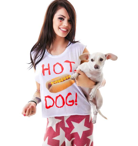 Wildfox Couture Hot Dog Chad Tank