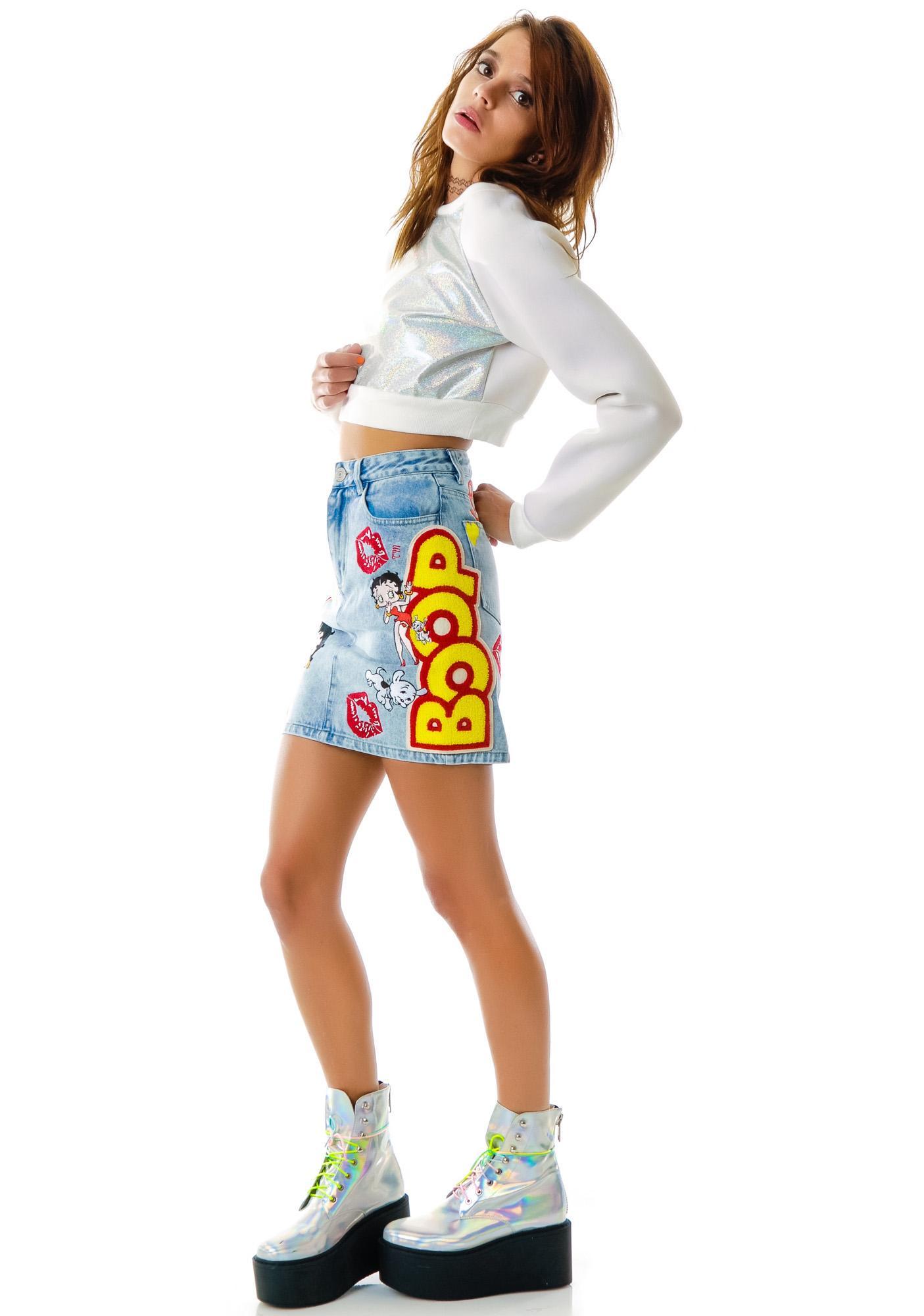 Joyrich Betty Boop Timeline Skirt