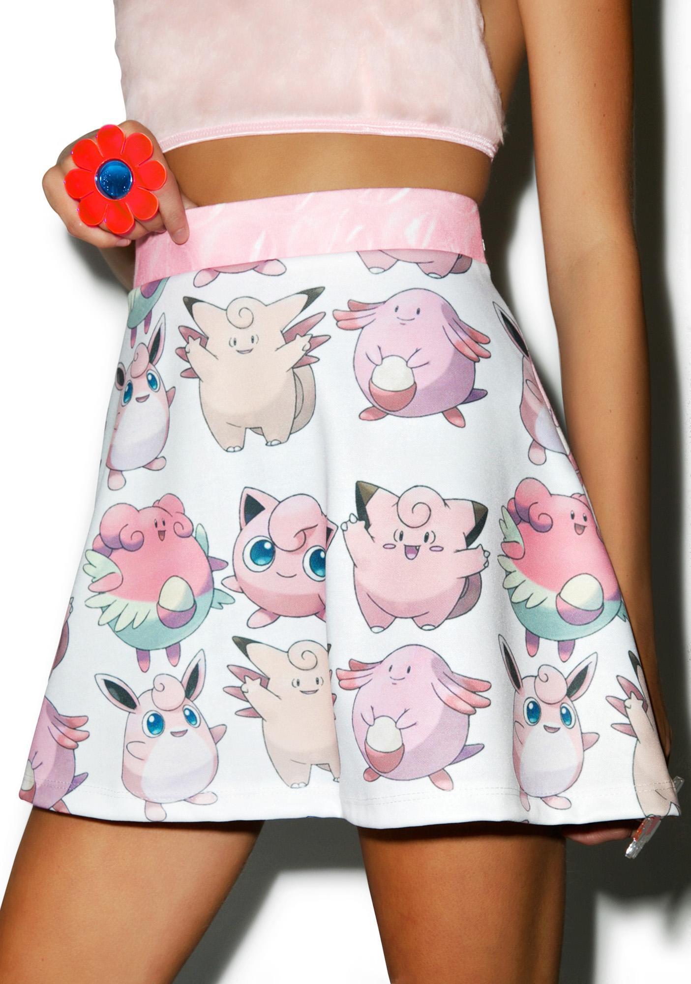 Poke Me Mon Skirt