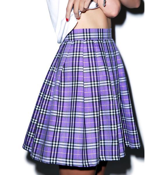 Reality Bites Plaid Skirt