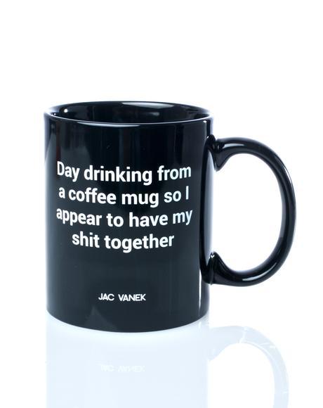 Day Drinking Coffee Mug