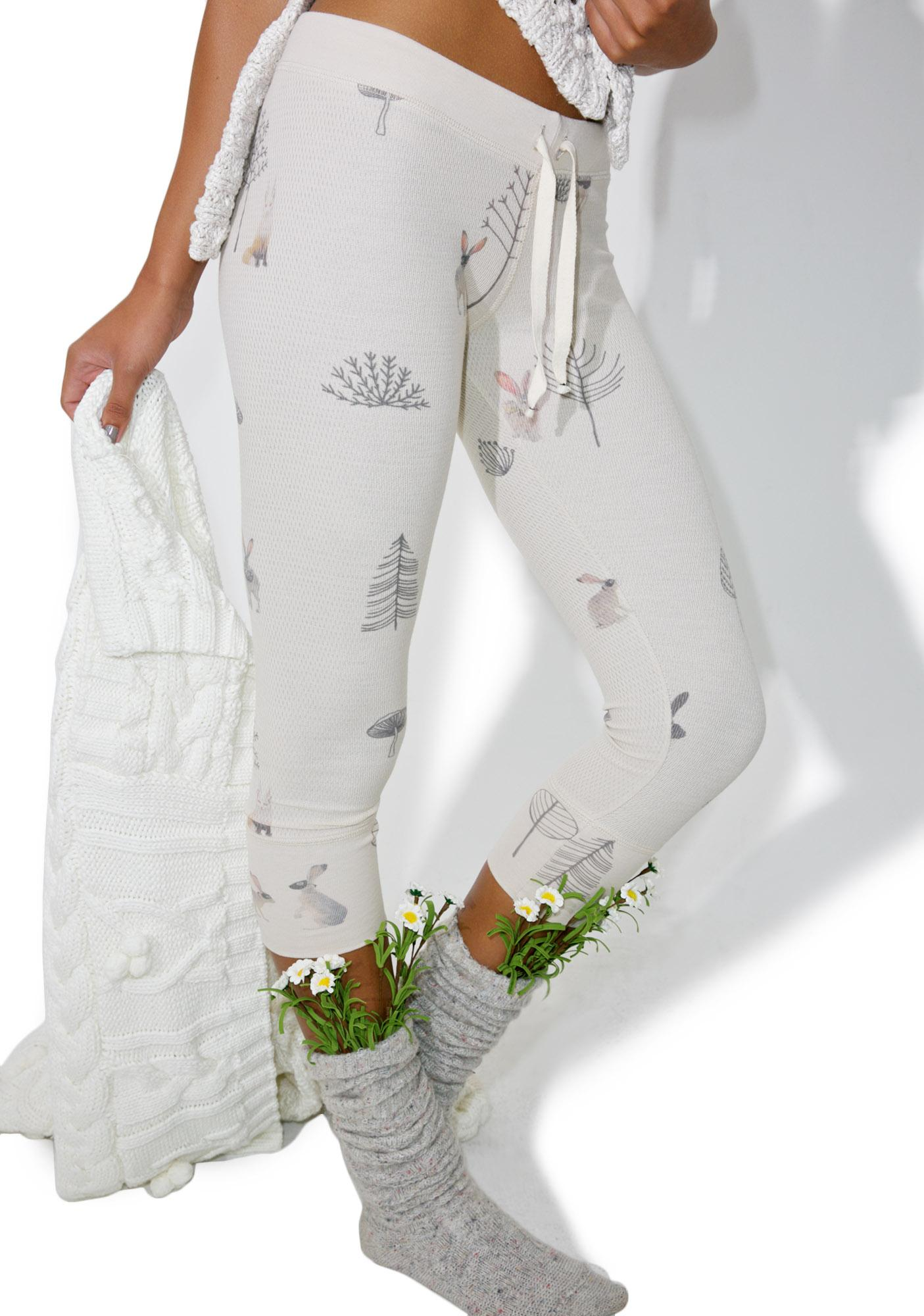 All Things Fabulous Drama Rabbit Thermal Pants