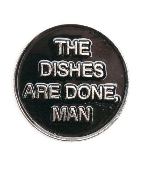 Dishes Are Done Pin