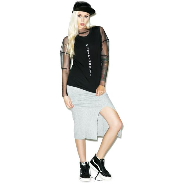 Cheap Monday Less Diagonal Tank