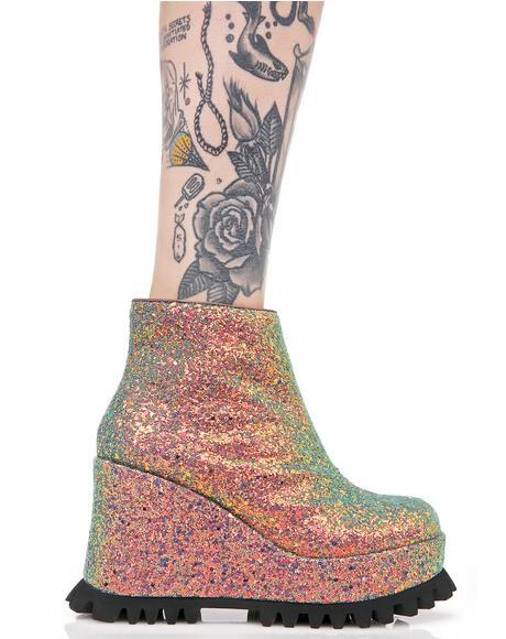 Renee Platform Wedge Sneaker