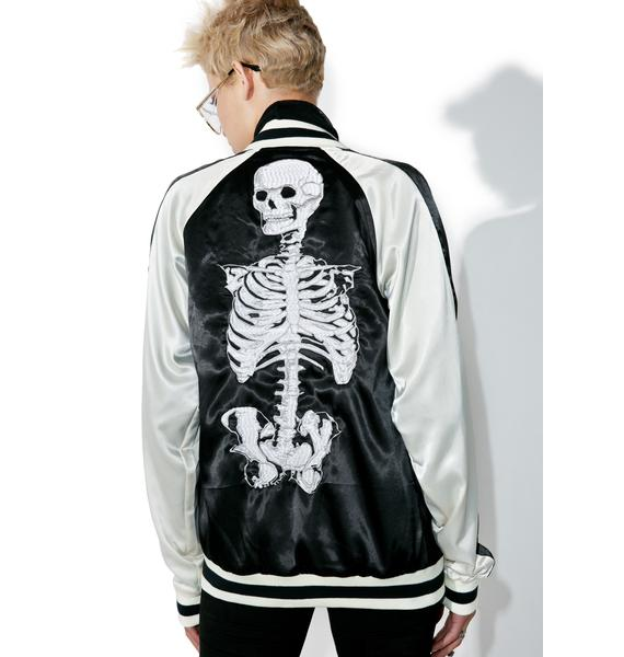 Tripp NYC Reversible Embroidered Jacket