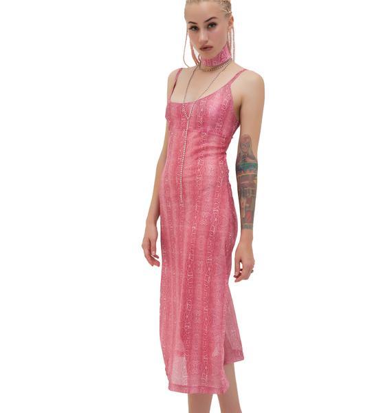 W.I.A Boa Dress