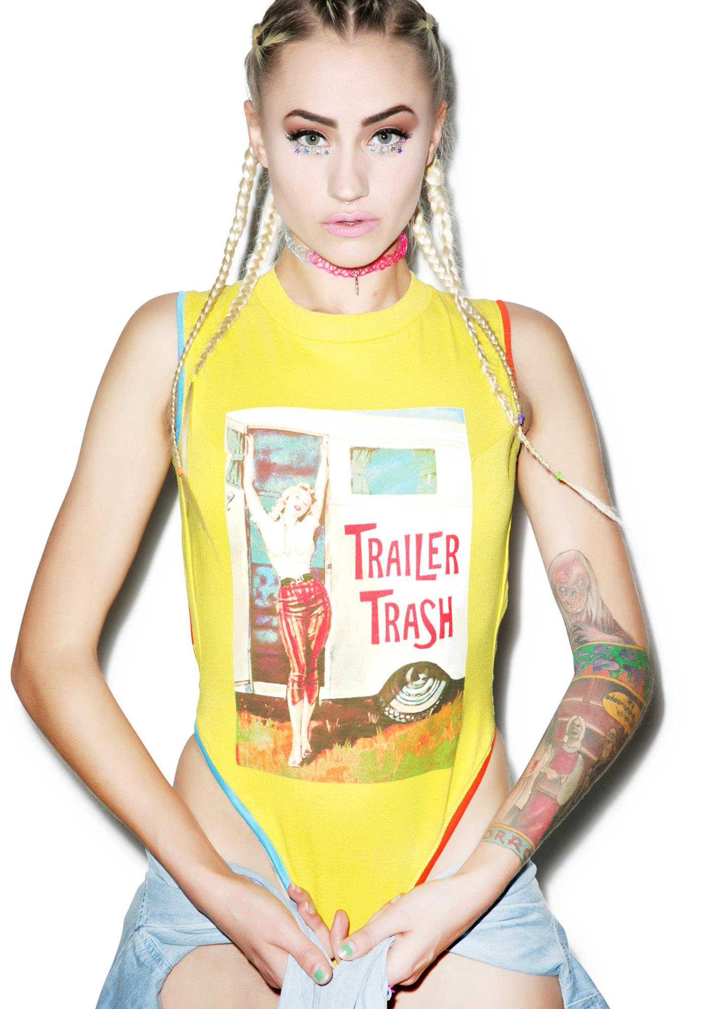 Mamadoux Trailer Trash Bodysuit
