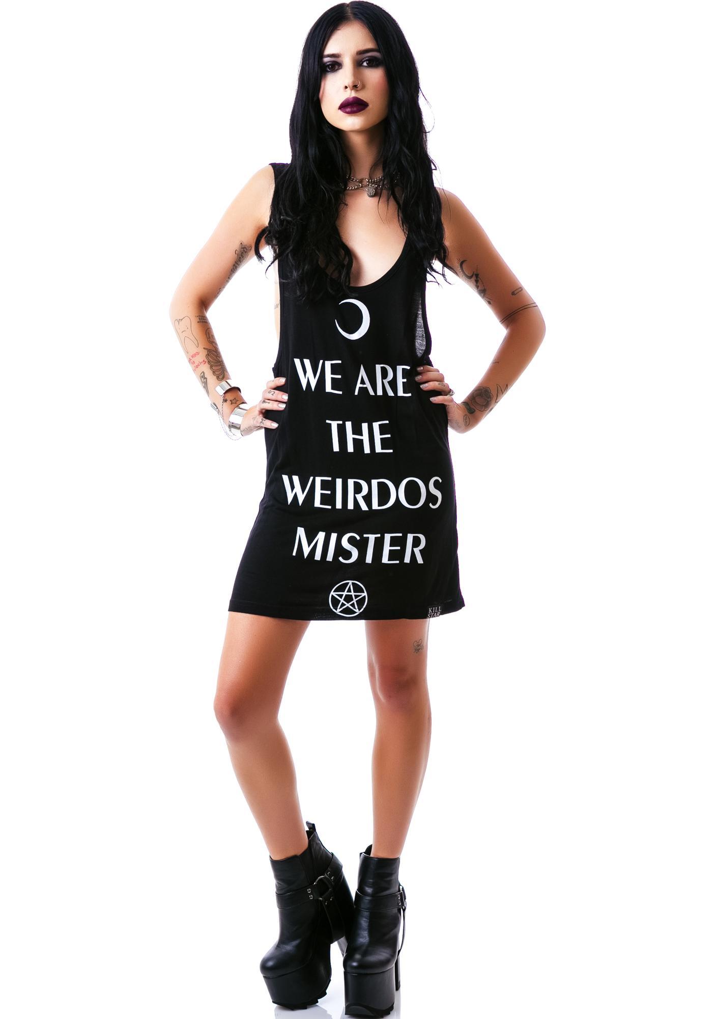 Killstar Weirdos Tank Dress