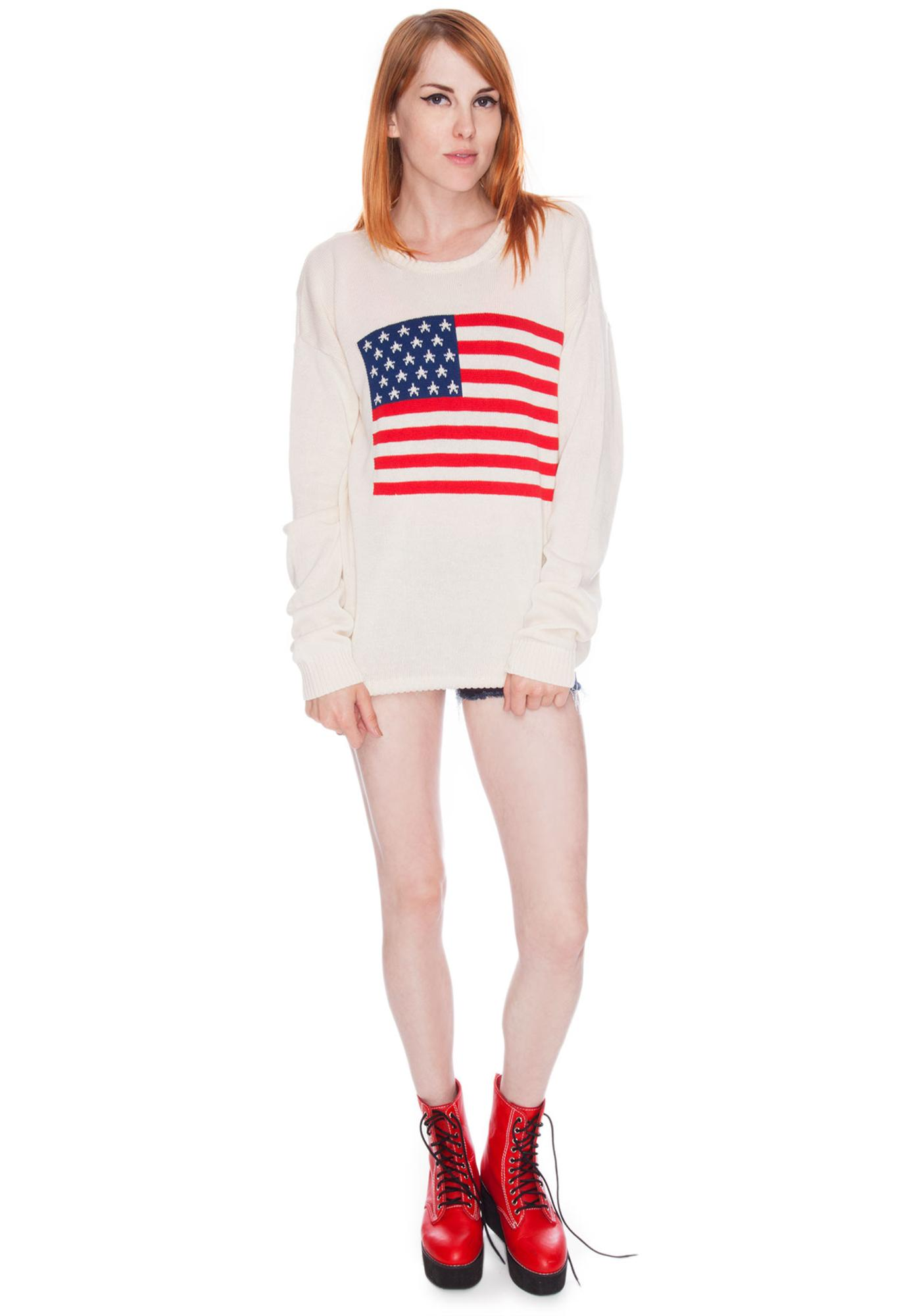 Betsey Flag Sweater