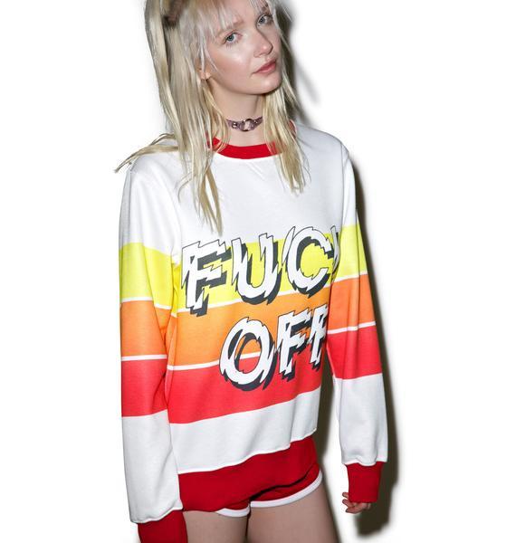 Teenage Fuck Off Already Sweater