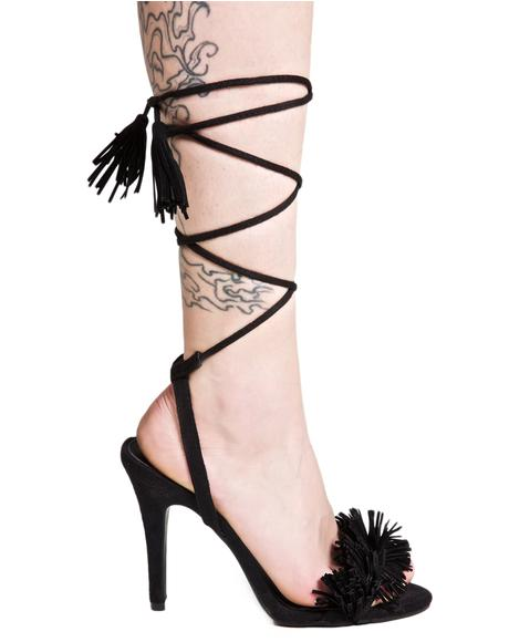 Siren Lace-Up Heels