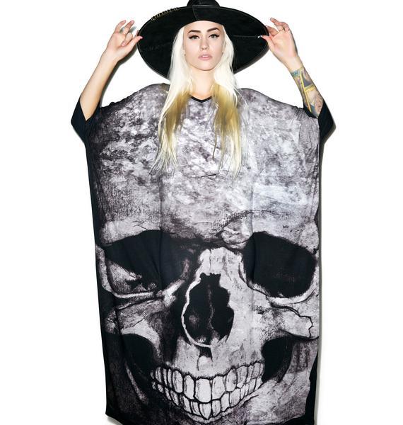 Killstar Skull Boho Dress