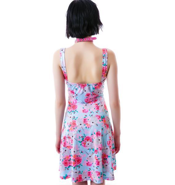 Iron Fist Buns N Roses Babydoll Dress