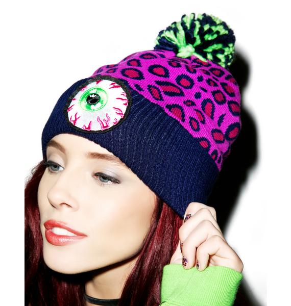 Mishka Safari Keep Watch Pom Beanie