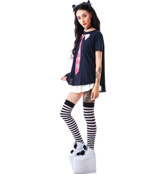 Wildfox Couture School Girl Retro Raglan