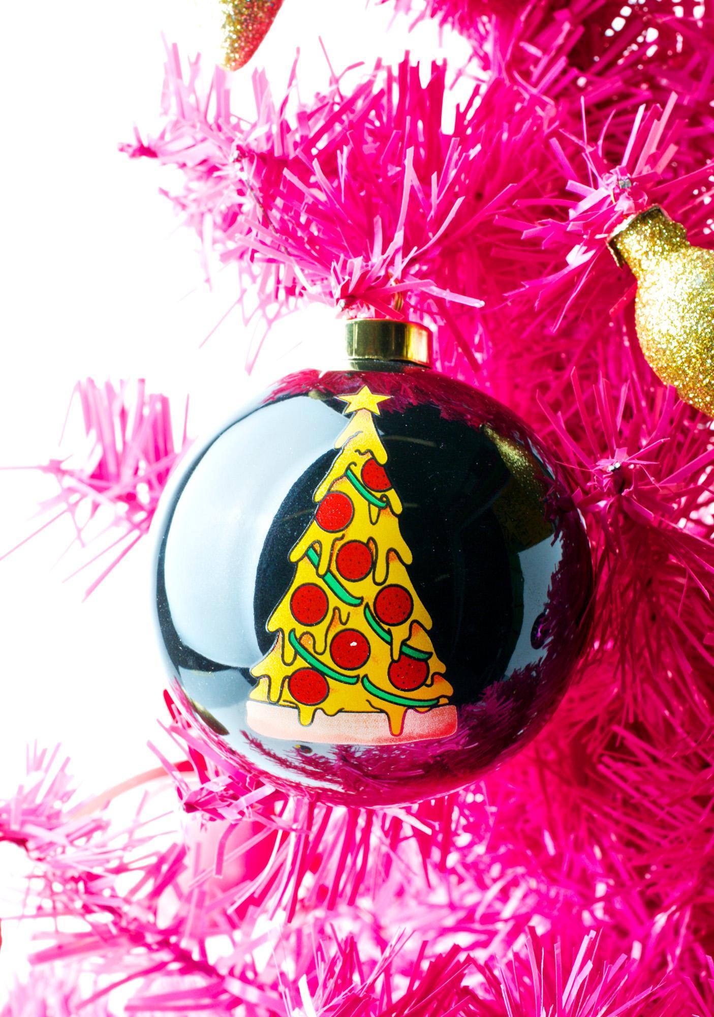 Sourpuss Clothing Pizza Tree Ornament