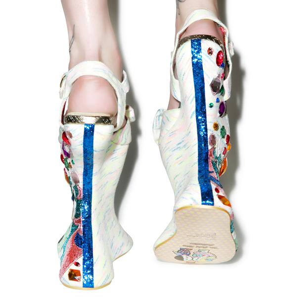 Irregular Choice Tall Tail Heels