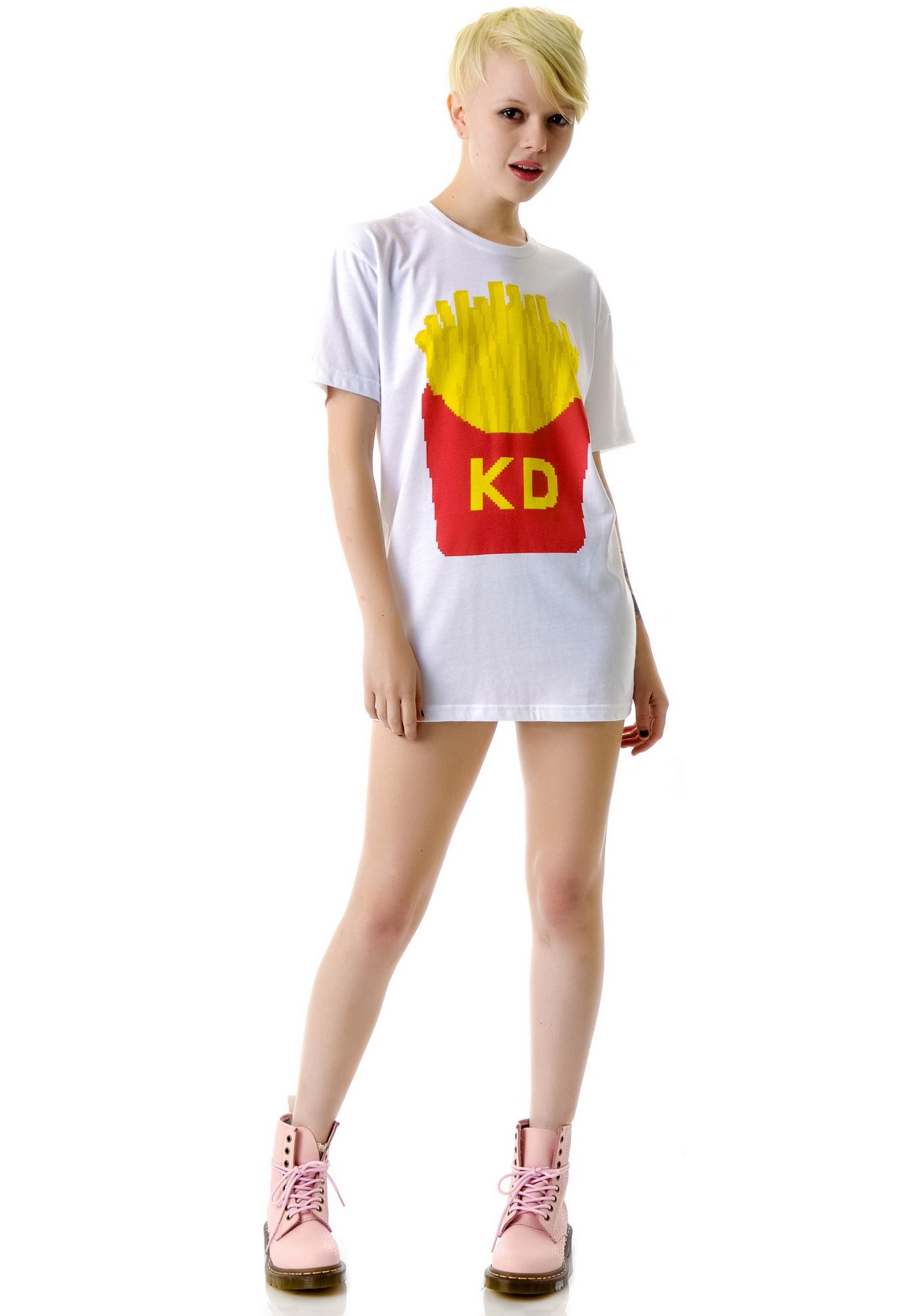 French Fries BF Tee