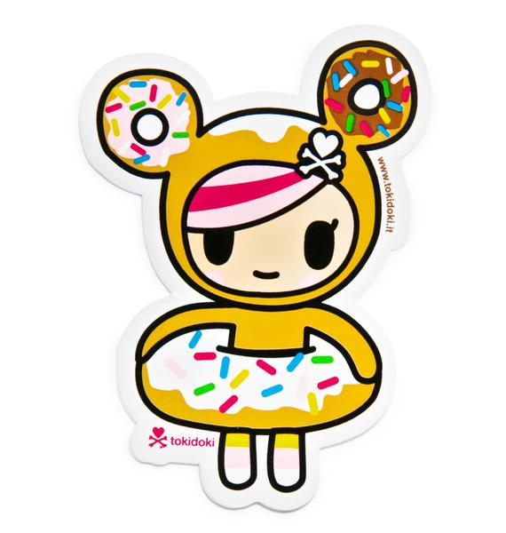 Tokidoki Donutella Sticker
