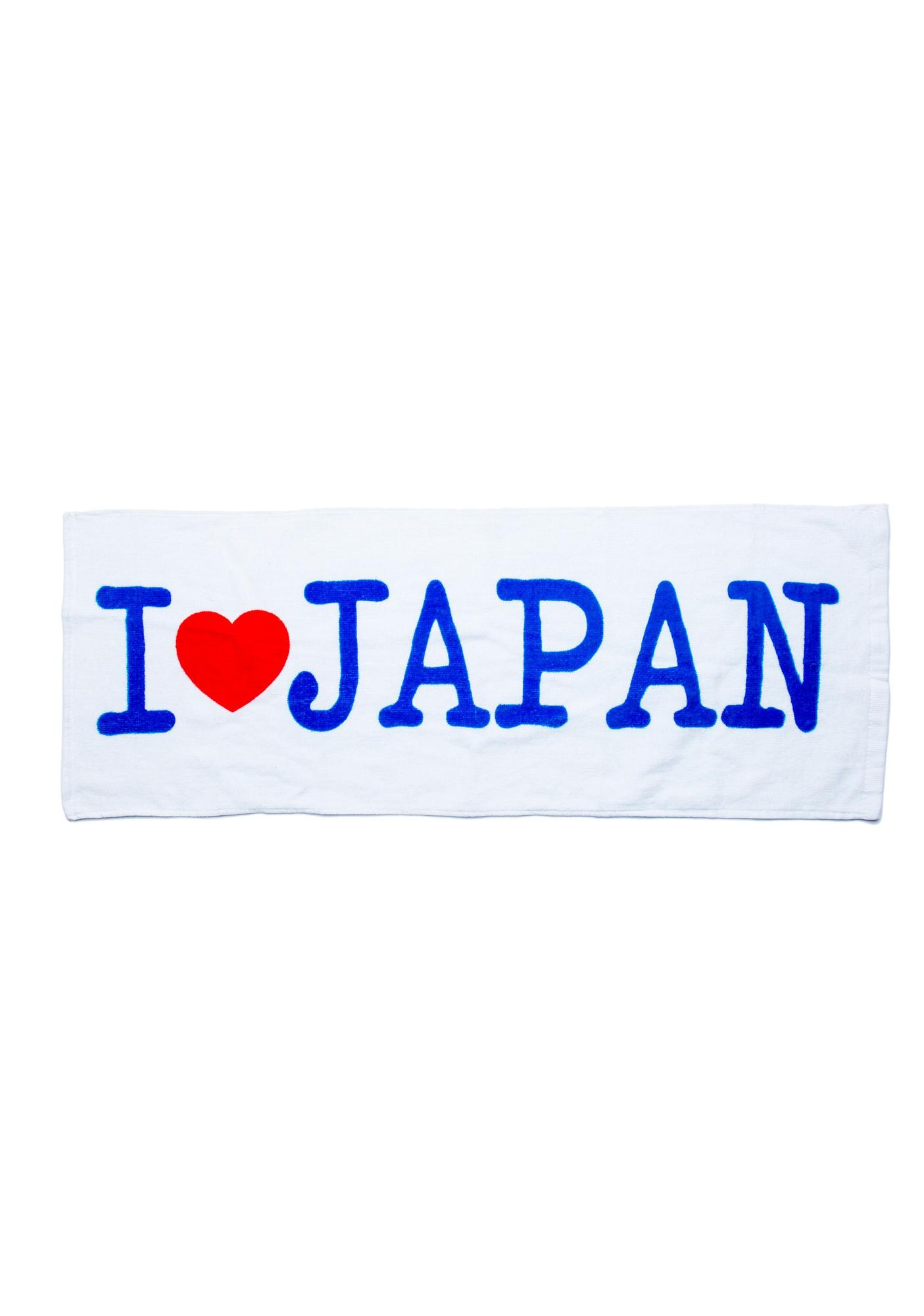 I Heart Japan Kitchen Towel
