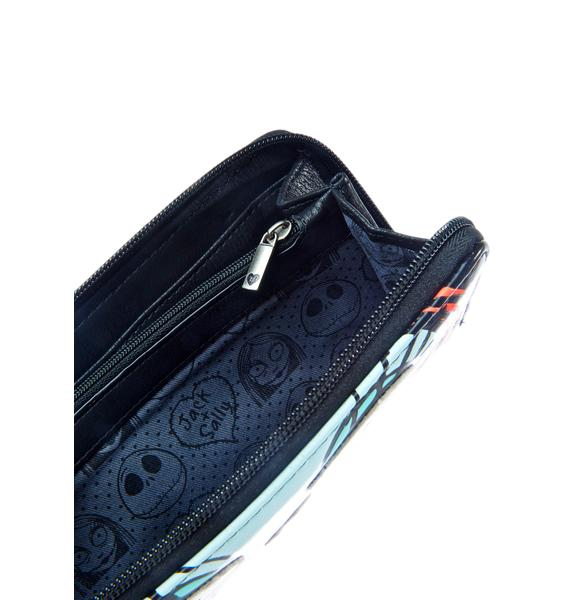 Loungefly Jack And Sally Wallet