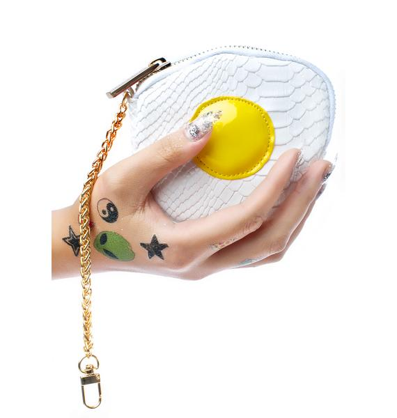 Skinnydip Fried Egg Coin Purse