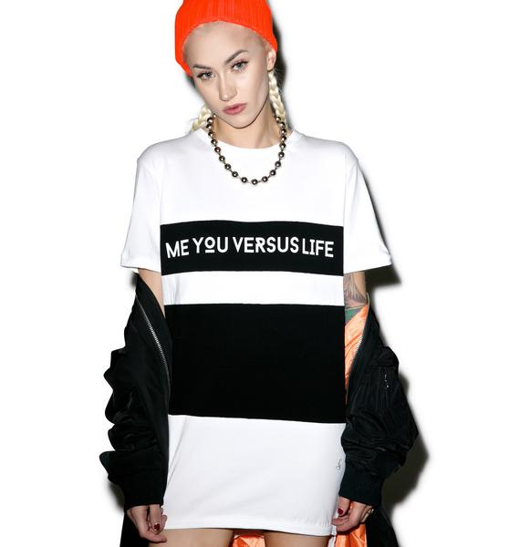 MeYouVersusLife Censored Tee