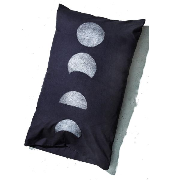 Moon Phase Pillow Case