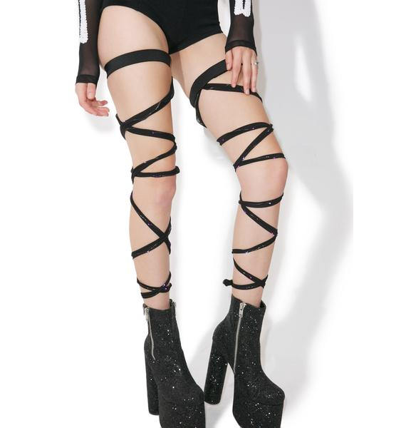J Valentine Party Vixen Light-Up Leg Wraps