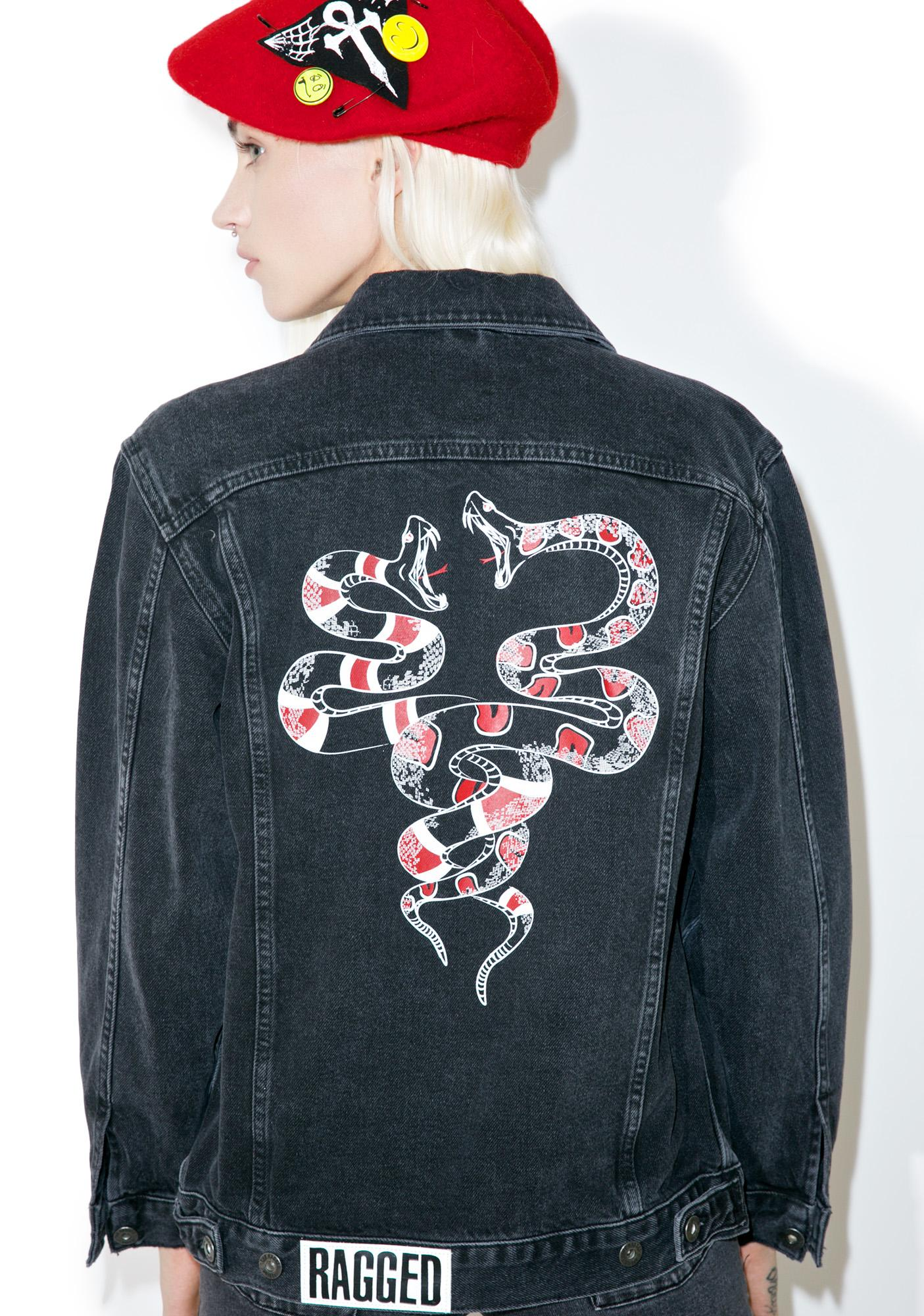 The Ragged Priest Skin Denim Jacket