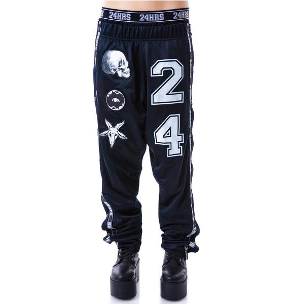 24HRS Needle Fit Snap Away Pants