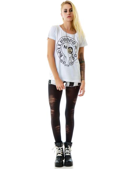 Miss Hearts Loose Fit Tee