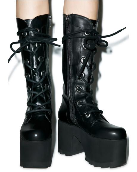 Forest Platform Boots
