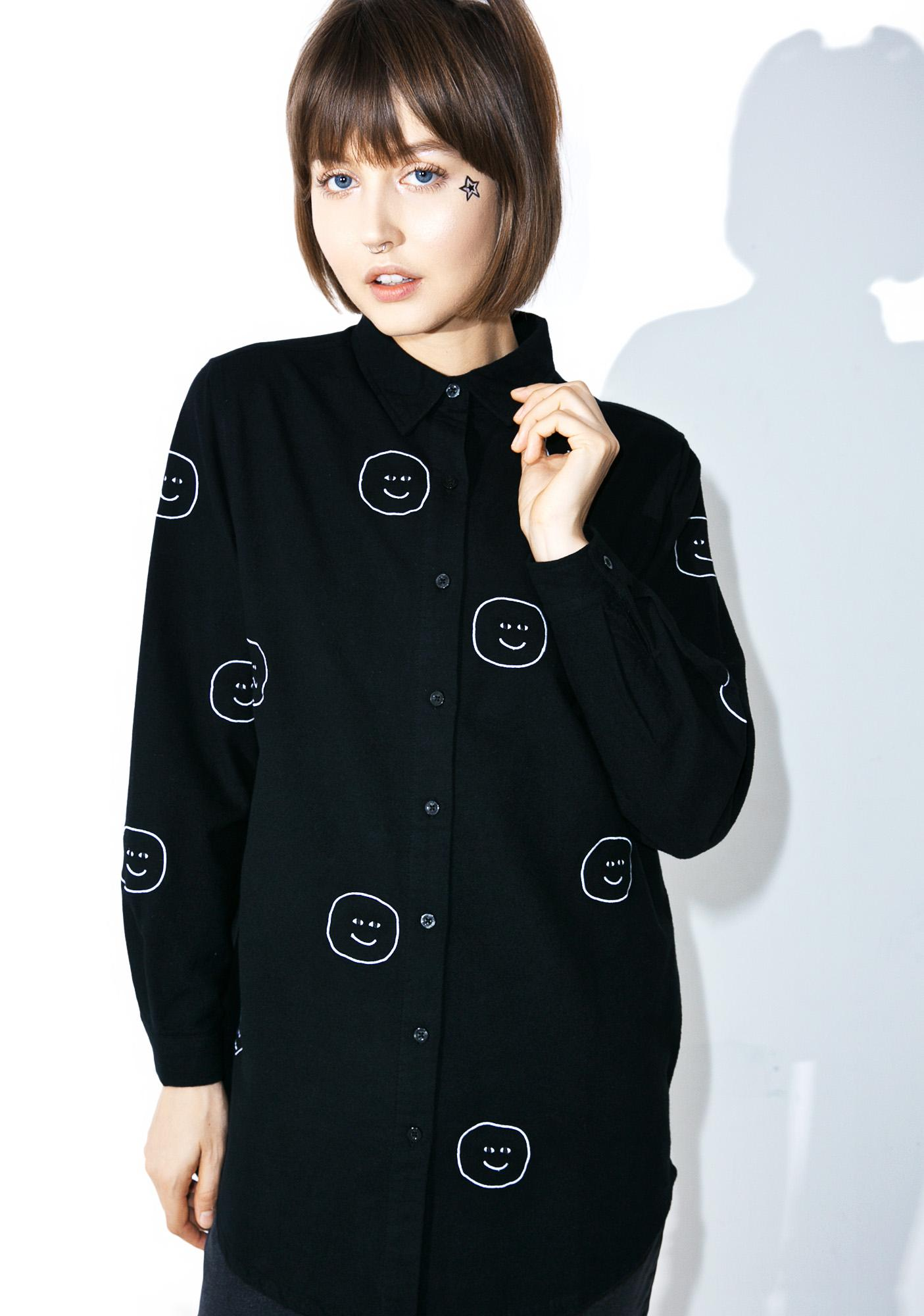 Lazy Oaf Creep Face Shirt