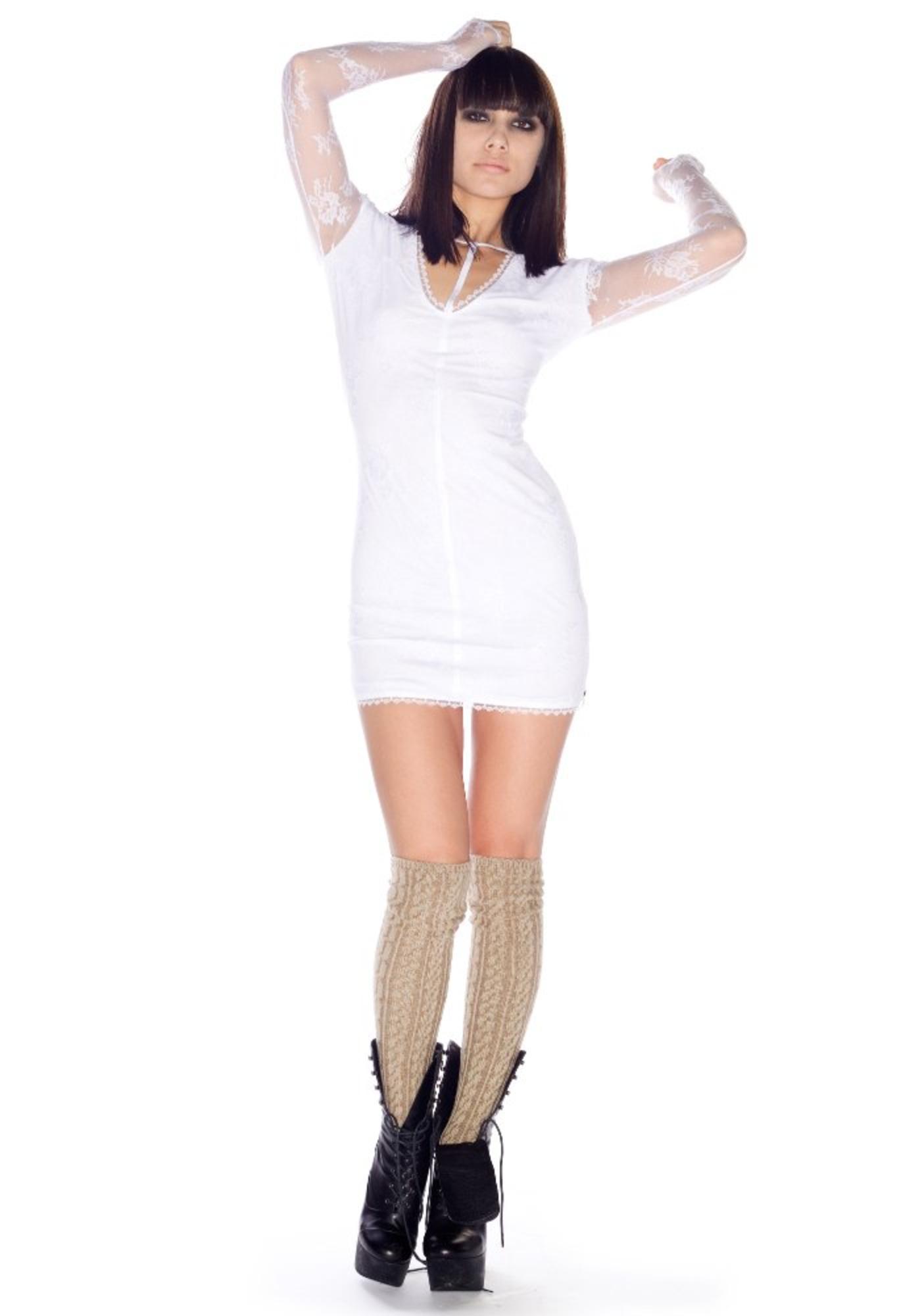 One Teaspoon Sweet Lace Mini Dress
