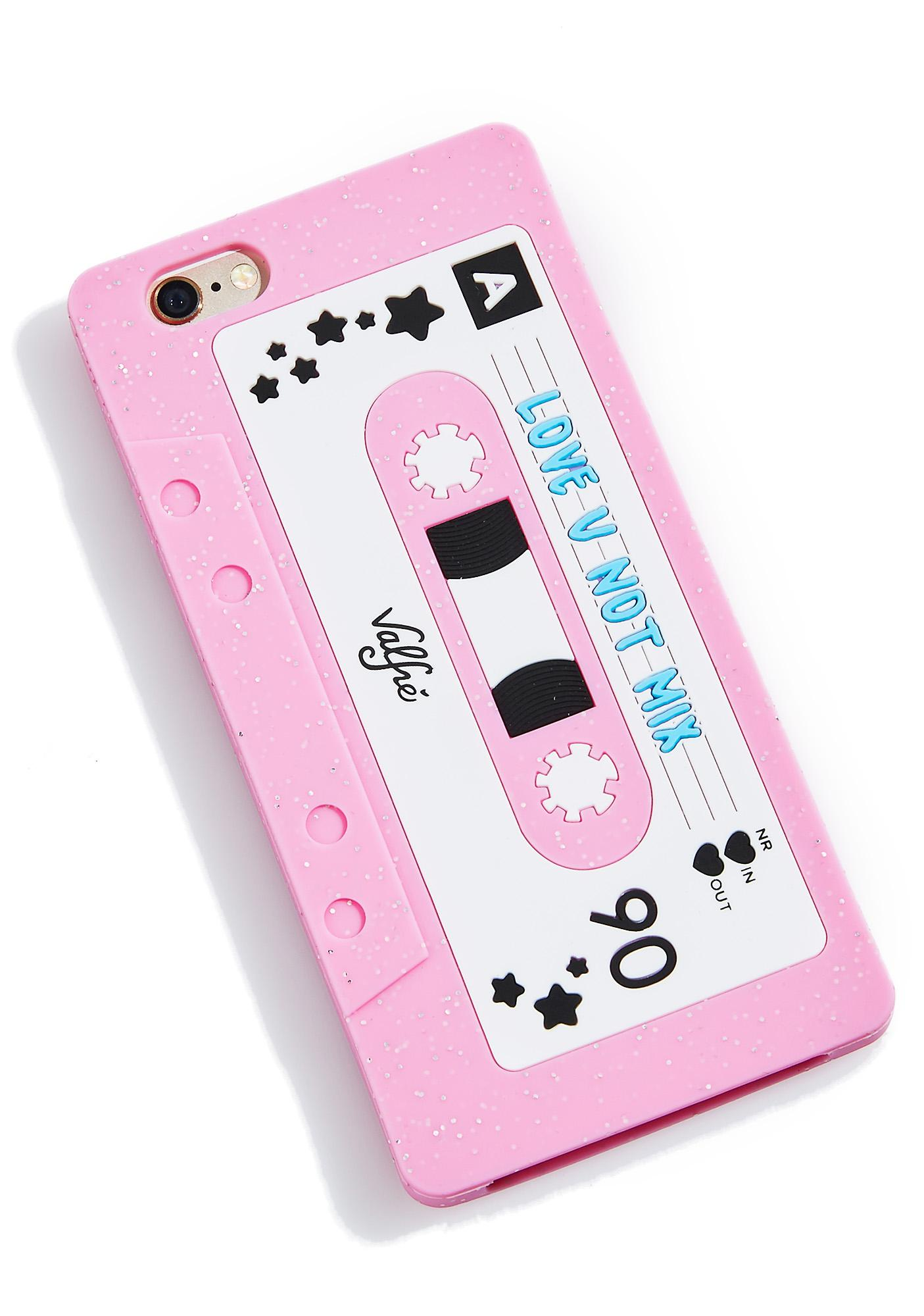 Valfré Love U Not Mixtape 6/6+ iPhone Case
